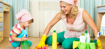 Как добиться победы в сражении за чистоту: убираем в детской!