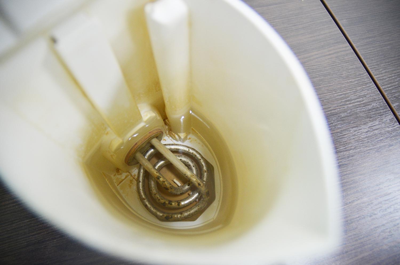 Как очистить чайник от