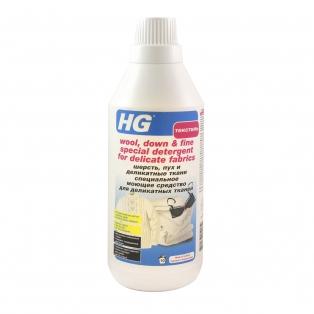 """Специальное моющее средство для деликатных тканей """"Шерсть, пух и деликатные ткани"""" HG"""