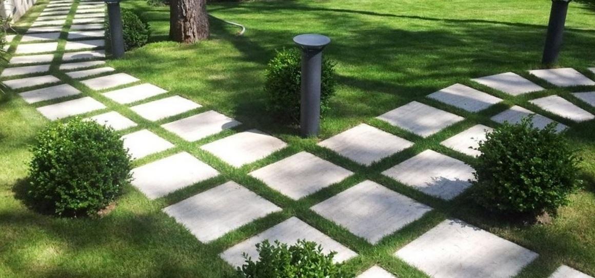 Готовимся к закрытию дачного сезона: чистим бетон, брусчатку и тротуарную плитку с HG!