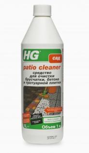 Средство для очистки брусчатки, бетона и тротуарной плитки HG