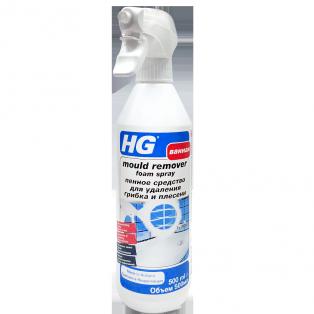 Пенное средство для удаления грибка и плесени HG